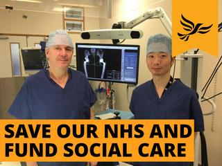 John Timperley Save NHS